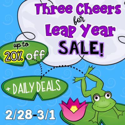 Leap Year Savings!