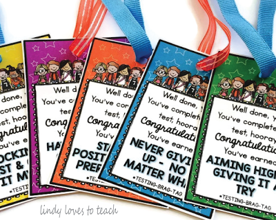 Free Brag Tags for Tests