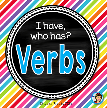 Action Verbs Freebie Game