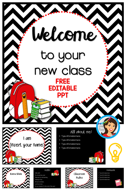 https://www.teacherspayteachers.com/Product/Back-to-School-PowerPoint-Freebie-editable-template-722787