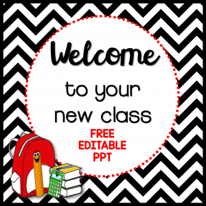 Back to School PowerPoint Freebie